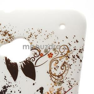 Plastový kryt na HTC One M7 -  barevní motýlci - 4