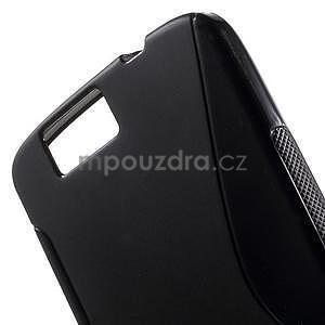 Gelový kryt S-line Huawei Ascend G7 - černý - 4