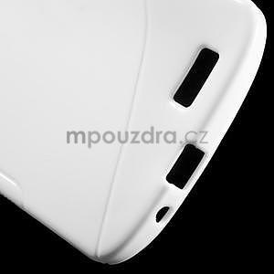 Gelový kryt S-line Huawei Ascend G7 - bílý - 4