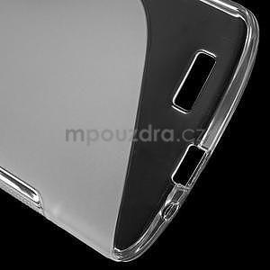 Gelový kryt S-line Huawei Ascend G7 - transparentní - 4