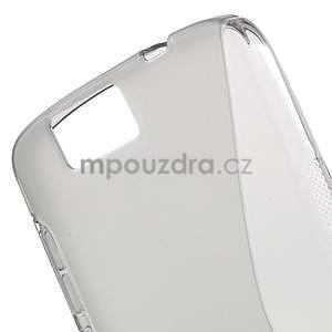 Gelový kryt S-line Huawei Ascend G7 - šedý - 4