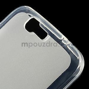 Gelový obal s matnými zády Huawei Ascend G7 - 4