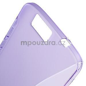 Gelový kryt S-line Huawei Ascend G7 - fialový - 4