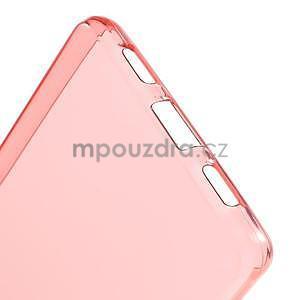 Ultra tenký gelový obal na Huawei Ascend P8 Lite - červený - 4