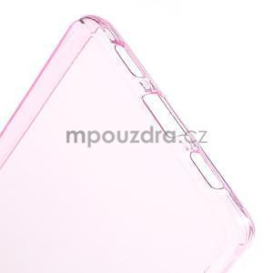 Ultra tenký gelový obal na Huawei Ascend P8 Lite - rose - 4