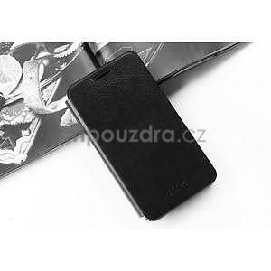 PU kožené pouzdro na Huawei P8 Lite - černé - 4