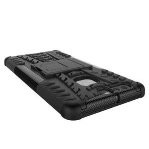 Outdoor ochranný kryt na mobil Huawei P9 - černé - 4