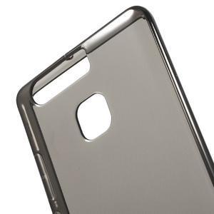 Gelový obal na mobil Huawei P9 - šedý - 4