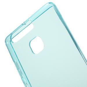 Gelový obal na mobil Huawei P9 - modrý - 4