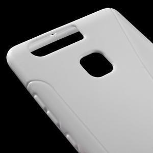 S-line gelový obal na mobil Huawei P9 - bílý - 4