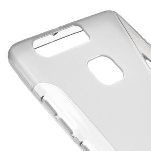S-line gelový obal na mobil Huawei P9 - šedý - 4