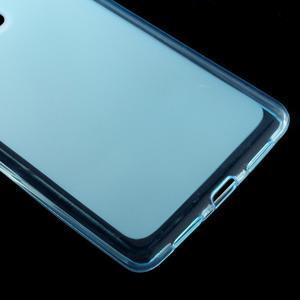 Matný gelový obal na mobil Huawei P9 lite - modrý - 4