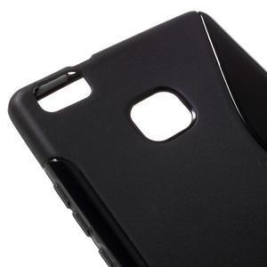 S-line gelový obal na mobil Huawei P9 Lite - černý - 4