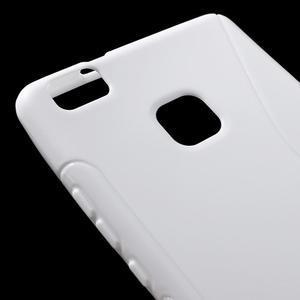 S-line gelový obal na mobil Huawei P9 Lite - bílý - 4