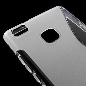 S-line gelový obal na mobil Huawei P9 Lite - transparentní - 4