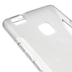 S-line gelový obal na mobil Huawei P9 Lite - šedý - 4