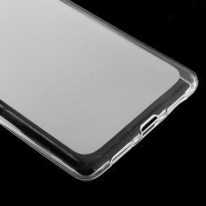 Matný gelový obal na mobil Huawei P9 lite - transparentní - 4