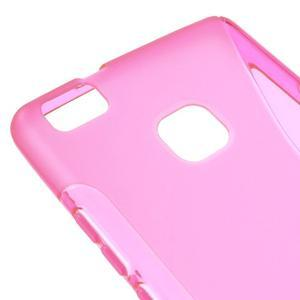 S-line gelový obal na mobil Huawei P9 Lite - rose - 4