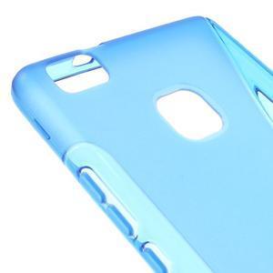 S-line gelový obal na mobil Huawei P9 Lite - modrý - 4