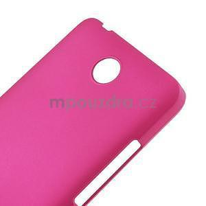 Rose pogumovaný plastový kryt na Huawei Y635 - 4
