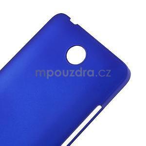 Modrý pogumovaný plastový kryt na Huawei Y635 - 4