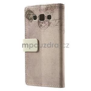 Peněženkové pouzdro pro Samsung Galaxy A3 - americké srdce - 4