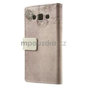 Peněženkové pouzdro pro Samsung Galaxy A3 - kočička - 4