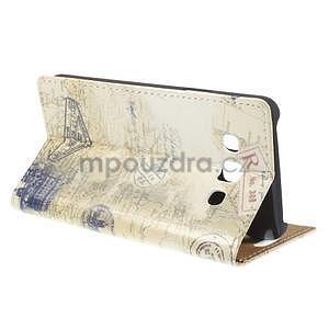 Peněženkové pouzdro na Samsung Galaxy A3 - Šikmá věž - 4