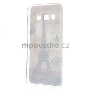 Gelový obal na Samsung Galaxy A3 - Eiffelova věž - 4