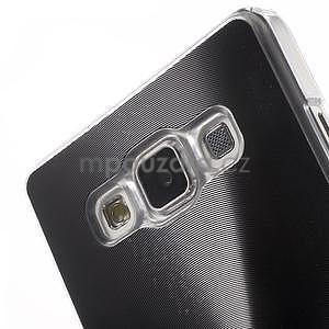 Černý metalický kryt na Samsung Galaxy A5 - 4