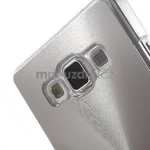 Stříbrný metalický kryt na Samsung Galaxy A5 - 4