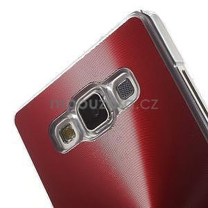 Červený metalický kryt na Samsung Galaxy A5 - 4