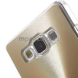Zlatý metalický kryt na Samsung Galaxy A5 - 4