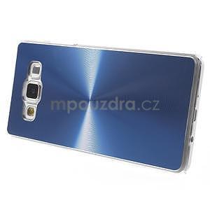 Modrý metalický kryt na Samsung Galaxy A5 - 4