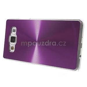 Fialový metalický kryt na Samsung Galaxy A5 - 4