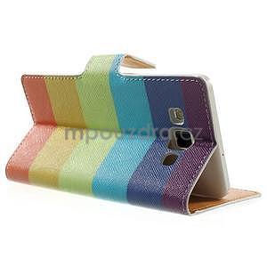 Peněženkové zapínací pouzdro na Samsung Galaxy A5 - barvy - 4