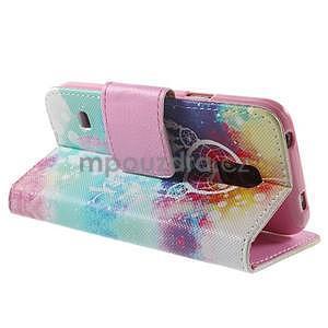 Zapínací peněženkové pouzdro na Samsung Galaxy S5 mini - snění - 4