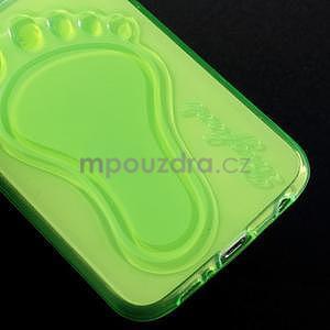 Protiskluzový gelový kryt na Samsung Galaxy S6 - zelený - 4