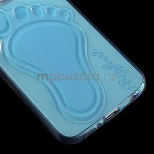 Protiskluzový gelový kryt na Samsung Galaxy S6 - modrý - 4