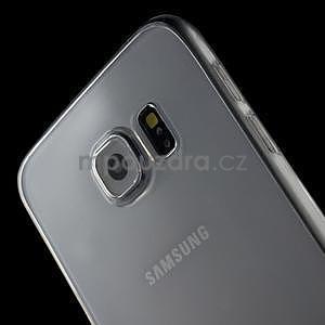 Ultra tenký obal na Samsung Galaxy S6 - transparentní - 4