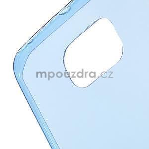 Modrý ultra slim obal na Samsung Galaxy S6 Edge - 4