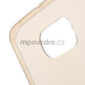 Béžový ultra slim obal na Samsung Galaxy S6 Edge - 4