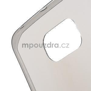Šedý ultra slim obal na Samsung Galaxy S6 Edge - 4