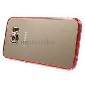 Rose hybridní gelový obal na Samsung Galaxy S6 Edge - 4