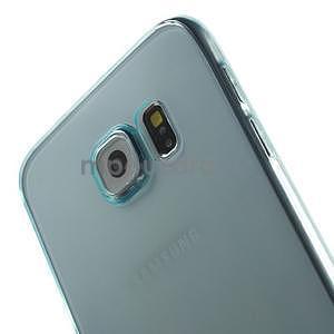 Ultra tenký obal na Samsung Galaxy S6 - světle modrý - 4