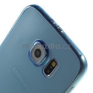 Ultra tenký obal na Samsung Galaxy S6 - modrý - 4