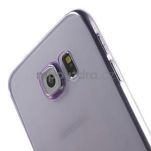 Ultra tenký obal na Samsung Galaxy S6 - fialový - 4