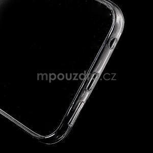 Šedý hybridní gelový obal na Samsung Galaxy S6 Edge - 4