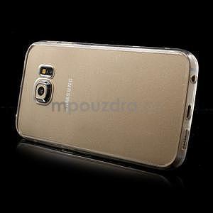 Transparentní hybridní gelový obal na Samsung Galaxy S6 Edge - 4