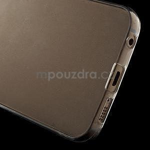 Ultra tenký gelový obal na Samsung Galaxy S6 Edge - tranparentní - 4
